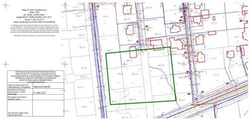 Geodezja MAPEX - mapa do projektu